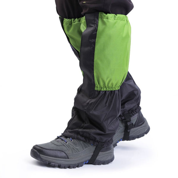 1Pair Waterproof Skiing Gainter Outdoor Hiking Climbing Hunting Trekking Snow Legging Gaiters leg warmers Hot