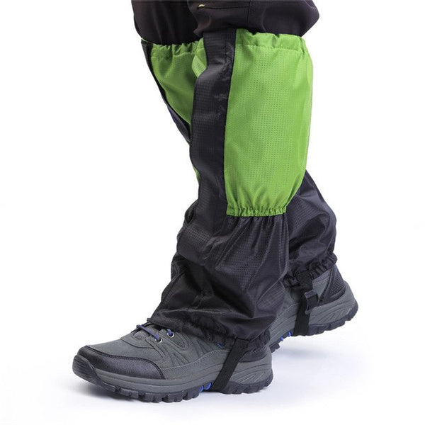 2pcs Leg warmers Leg Hiking Gaiters Waterproof winter Outdoor Climbing Hunting Trekking Snow Legging Gaiters Hot Sale