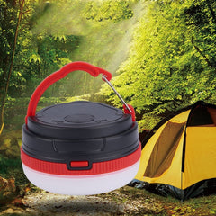 Hanging LED Camping Lamp Handheld Outdoor Emergency Lantern Waterproof Batteries Operated Portable Flashlights Hiking Tent Light