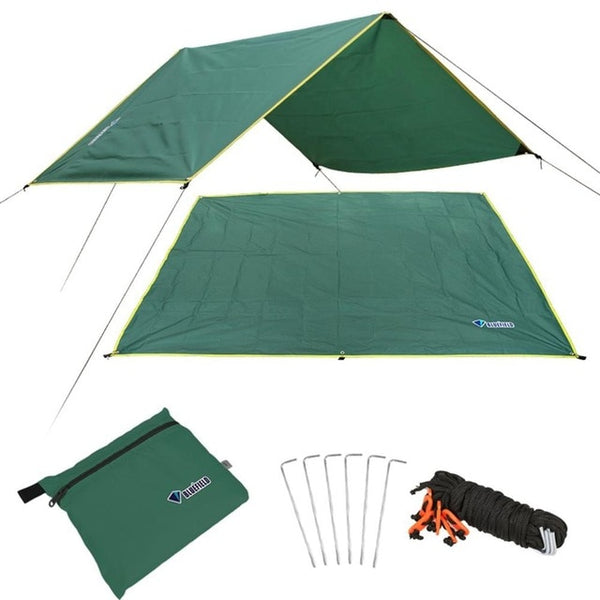 4-6 Persons Ultralight Multifunctional Waterproof Camping Mat Tent Tarp Footprint Ground Mat For Outdoor Camping Hiking Picnic