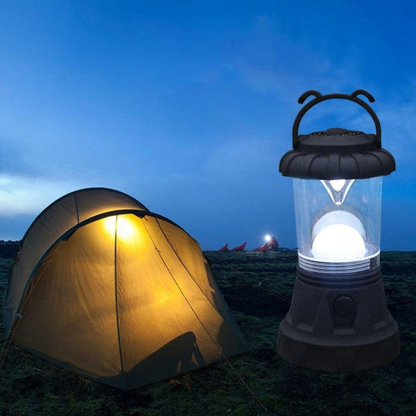 Portable Camping Light Super Bright Hanging Tent Light Lantern Battery Powered Emergencies Flashlight For Hiking Travel