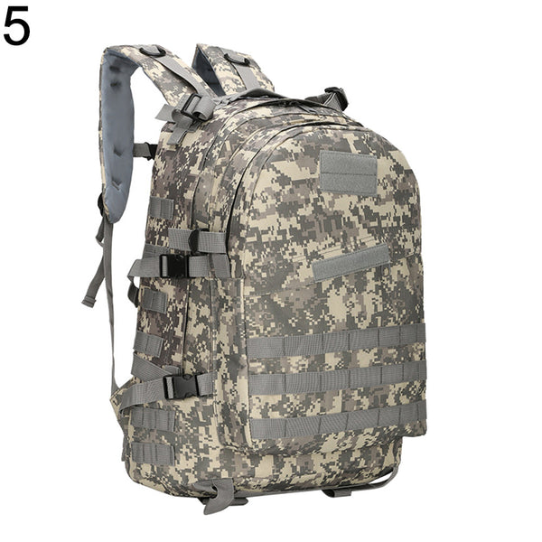 Military Tactical Trekking Rucksack Camouflage Backpack Sports Duffle Molle Bag