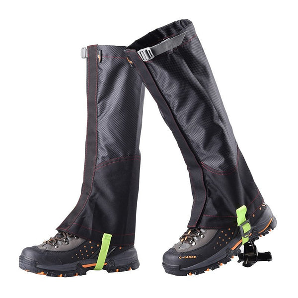 Waterproof Sandproof Outdoor Legwarmers Hiking Hunting Trekking Snow Legging Gaiters Leg Covers Outdoor Tools