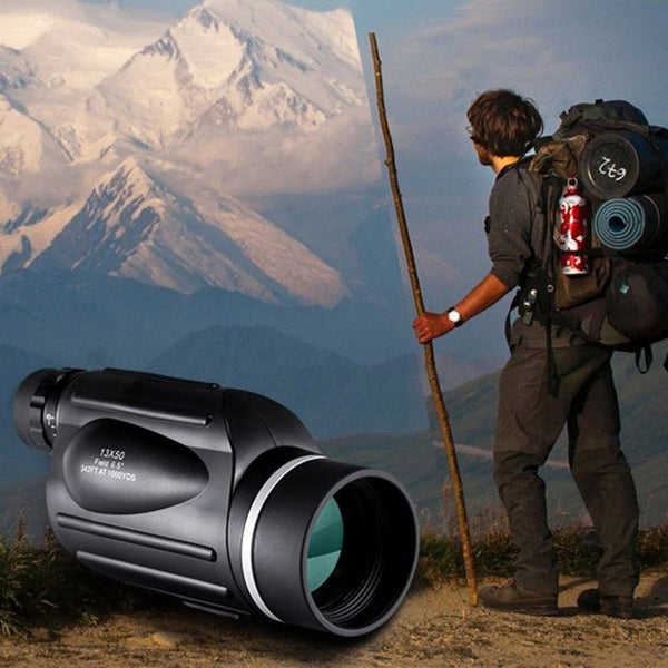 Outdoor Monocular Binoculars With Rangefinder Waterproof Telescope Distance Meter Type Monocular For Outdoor Hiking