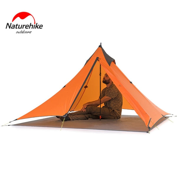 Camping Tent Lightweight Waterproof Single Layer Backpacking Tent, Portable Tents for Outdoor Sports Camping Hiking