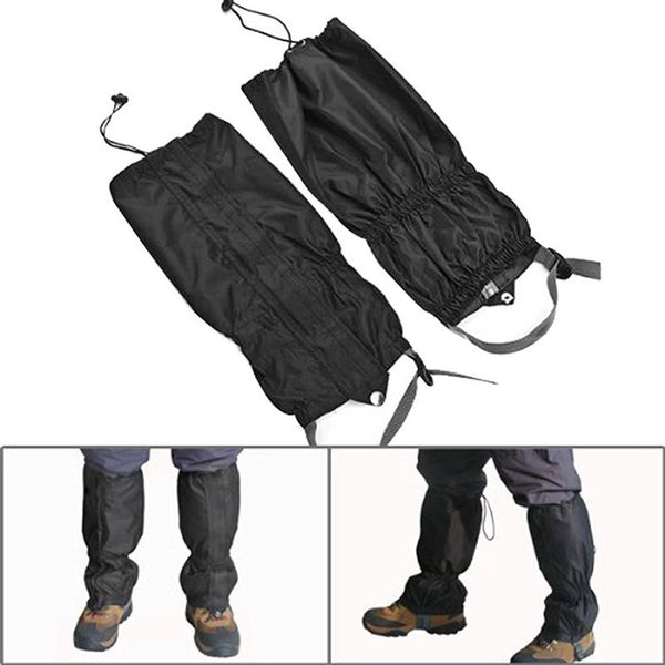 2pcs Waterproof Outdoor Hiking Walking Climbing Hunting Snow Legging Gaiters