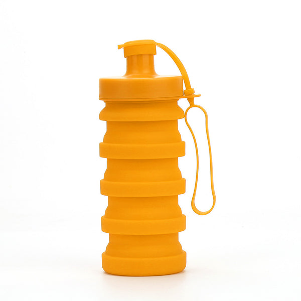 Silicone Collapsible Water Bottle Portable Water Bag for Camping,Hiking and Traveling,BPA Free and Dishwasher Safety