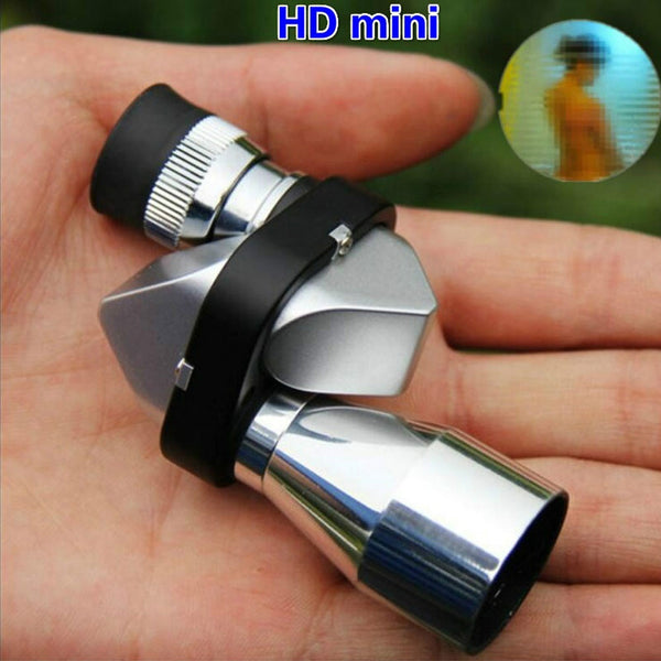 8x20 Mini Blue Optical Lens Monocular Telescope HD View Outdoor Travel Hiking