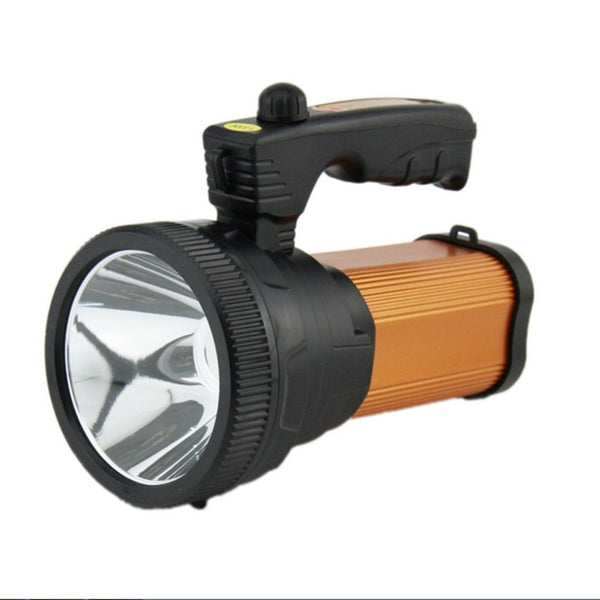 New Arrival 100W Super Bright Searchlight Handheld Portable Spotlight Rechargeable LED Flashlight for Camping Hiking