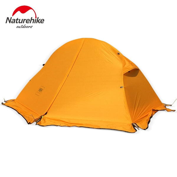 Naturehike NH18A095-D Lightweight 25D 210T  Nylon Single Person One Man Backpacking Tent Trekking Camping Canopy Travel 3 Season