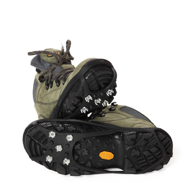 Round Shape Winter Outdoor Walking Hiking Anti-slip 5 Studs Ice Snow Climbing Cleats Crampons Gripper For Boot Shoes