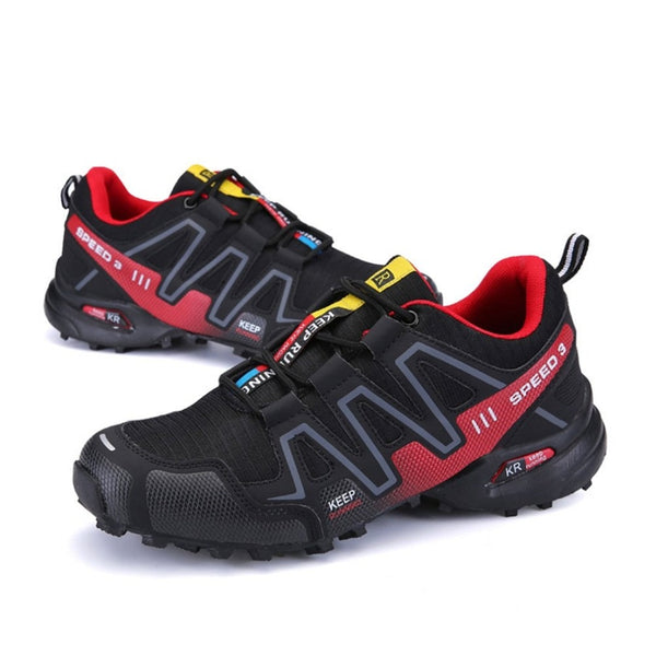 Men's  Speed 3 Athletic Outdoor Sports Hiking Mountaineering Sneakers Fashion Casual Luminescent Shoes