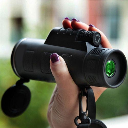 High Power 40X60 HD Monocular Telescope Shimmer lll Night Vision Outdoor Hiking Portable Adjustable Telescope
