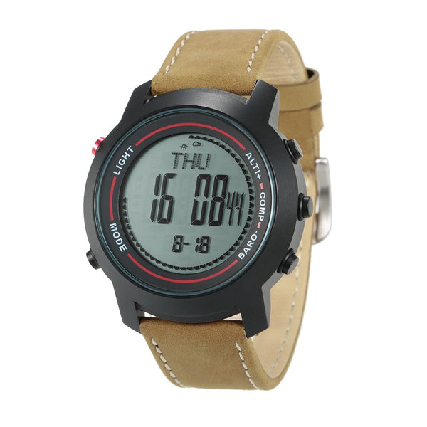 SPOVAN 5ATM Multifunctional Outdoor Sports Watch Climbing Hiking Wristwatch Altimeter Barometer Thermometer Digital Compass