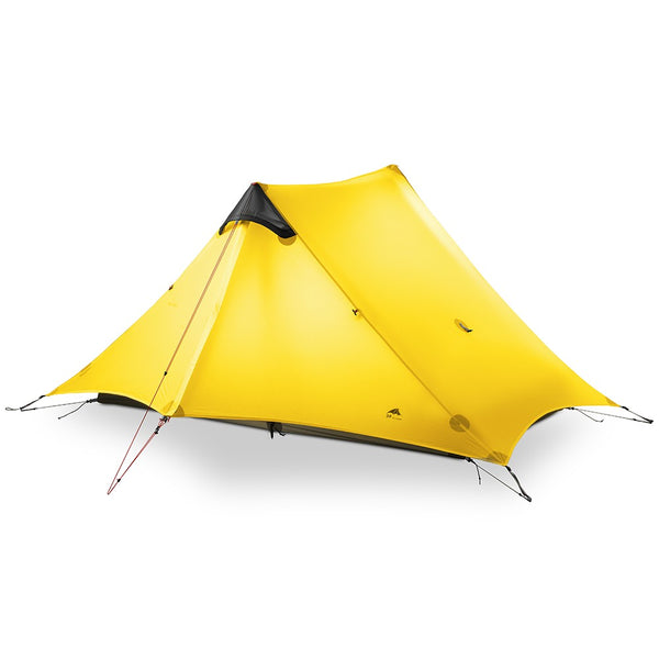 2 Persons Oudoor Ultralight Camping Tent 3 Season Professional Trekking Pole Tent