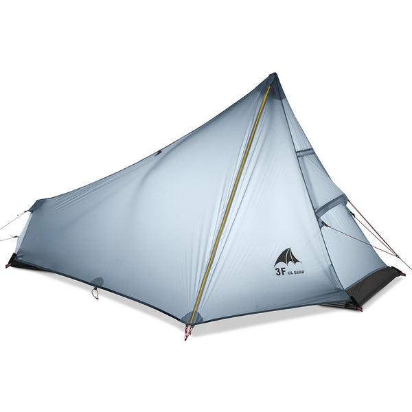 2-3 Person Oudoor Ultralight Camping Backpacking Tent 3 Season Professional Trekking Pole Tent