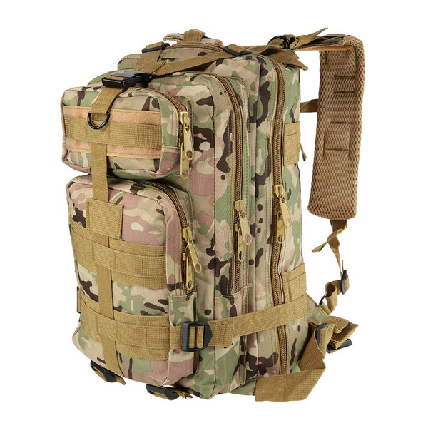 Outdoor Sport Military Tactical Backpack Molle Rucksacks Camping Hiking Trekking Bag CP Camouflage