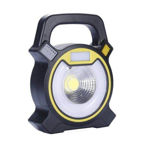Handheld Design 500LM Lawn Lamp Flashlight LED Lightweight Plastic Waterproof Outdoor Camping Torch Flashlight
