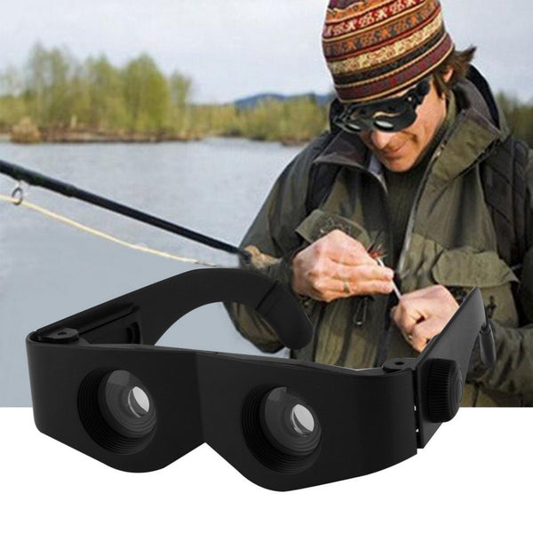 Portable Glass Style Black Telescope & Magnifier For Fishing Hiking Binoculars Fishing Accessories