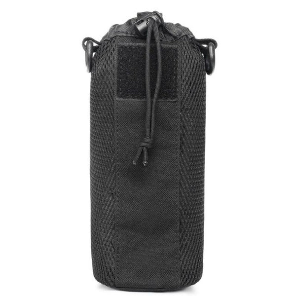 Outdoors Molle Nylon Water Bottle Pouch Kettle Waist Shoulder Bag for Climbing Camping Hiking