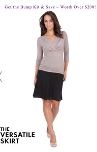 Milan Bump Maternity Kit - Maternity Dress, S/S Top, Leggings & Skirt
