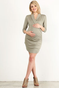 Olivia Shawl Collar Dress