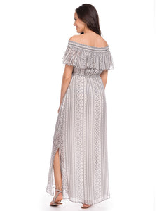 Monique Off the Shoulder Maternity Dress