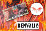 benvolio lashes - likely makeup