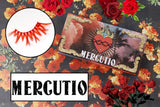 mercutio lashes - likely makeup