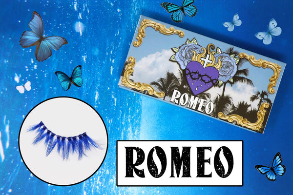 romeo lashes - likely makeup