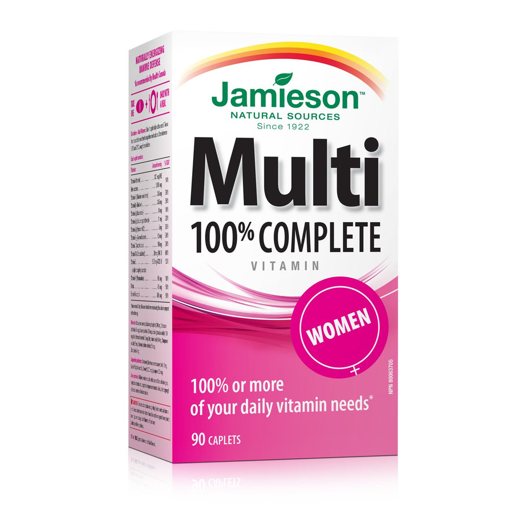 Jamieson Women Multivitamin 90 Caplets