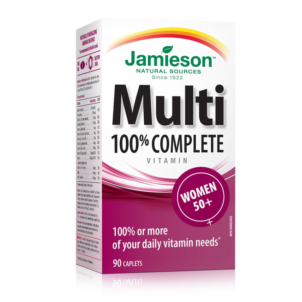 Jamieson Women 50+ Multivitamin 90 Caplets