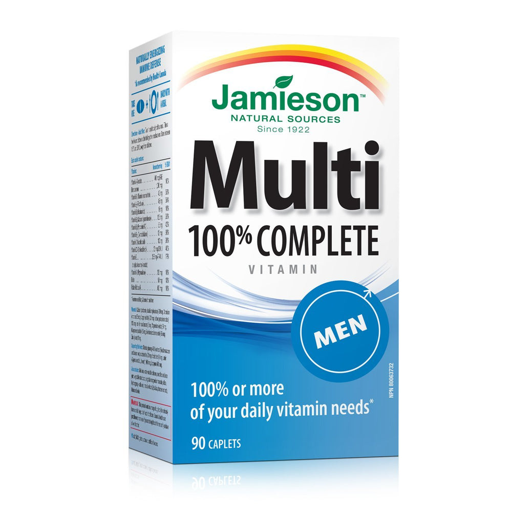 Jamieson Men Multivitamin 90 Caplets