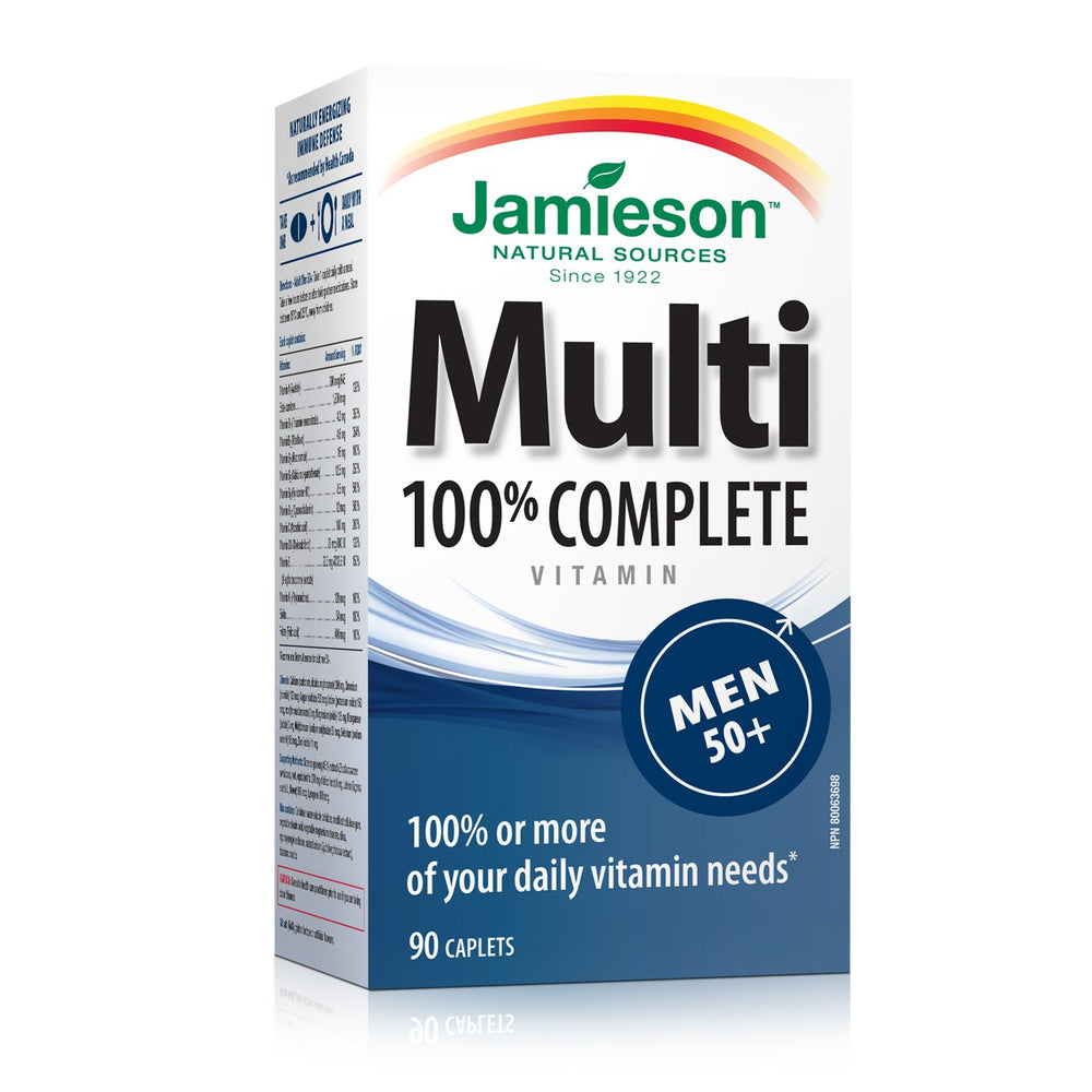 Jamieson Men 50+ Multivitamin 90 Caplets