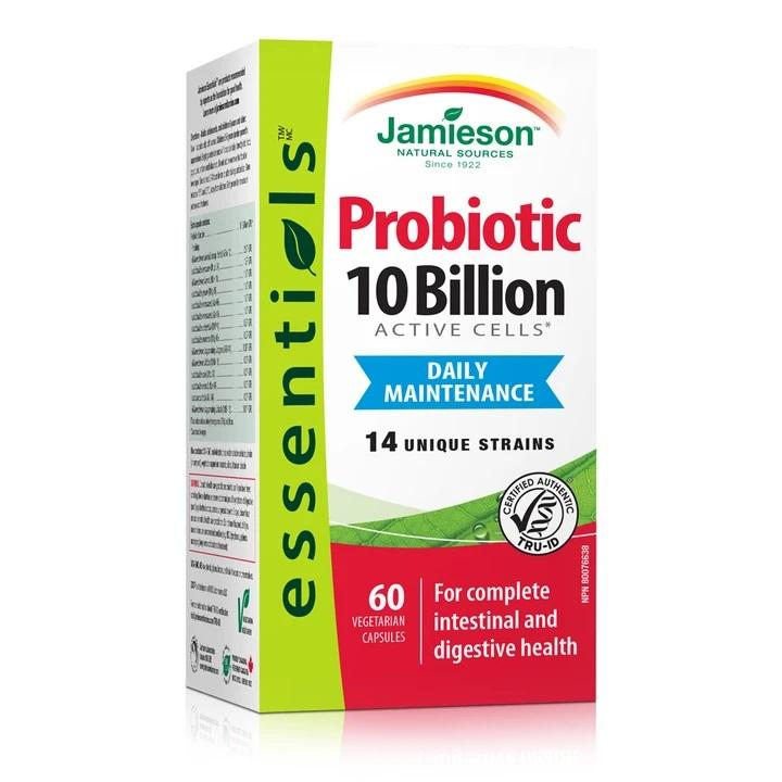 Jamieson Probiotic 10 Billion 60 Capsules