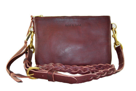 Sadler w/ Braided Crossbody