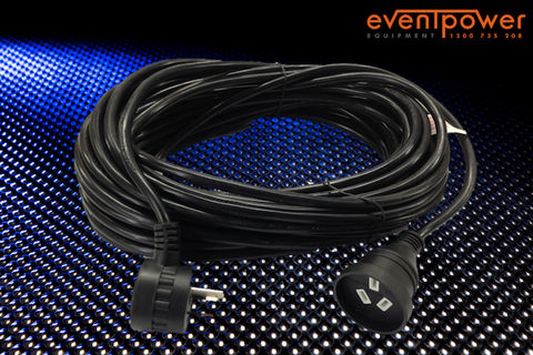 10A 20M single phase extension Lead IP65 weatherproof