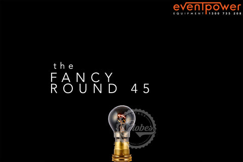 Clear - 25W Fancy Round Globe B22 Bayonet