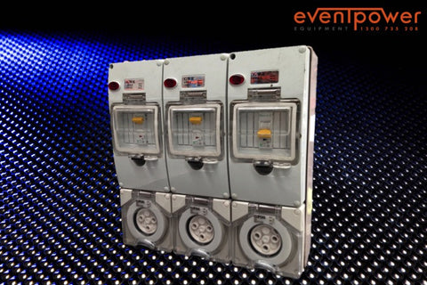 50A to 32A Three Phase Splitter - EVENTPOWER EQUIPMENT