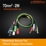 70mm2 Powerlock Source Tails - 2m