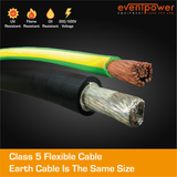 5m 70mm2 Powerlock cable set