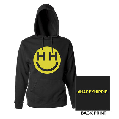 Happy Hippie Foundation Pullover Hoodie-MILEY CYRUS