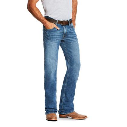 Men's Ariat M2 Relaxed Stretch Legacy Boot Cut Jeans