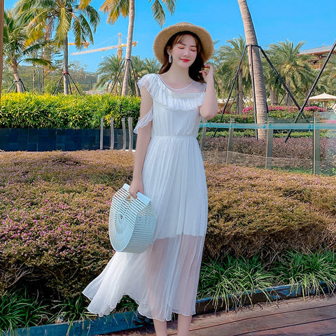 Vacation Beach Maxi Dress