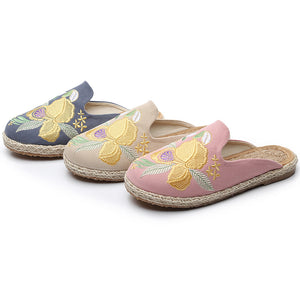 Vintage Embroidered Sandals