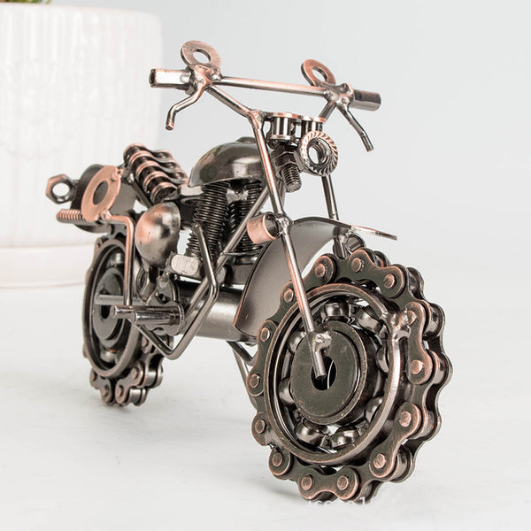 Iron Motorcycle Creative Crafts Decoration