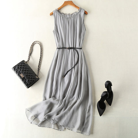 Sleeveless Beach Maxi Dress