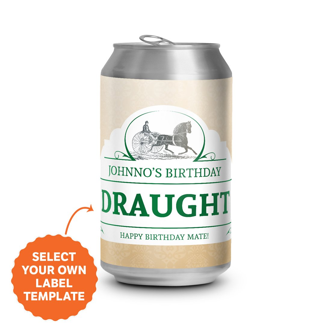 Draught Cans 4.6% - 375ml - Carton of 24