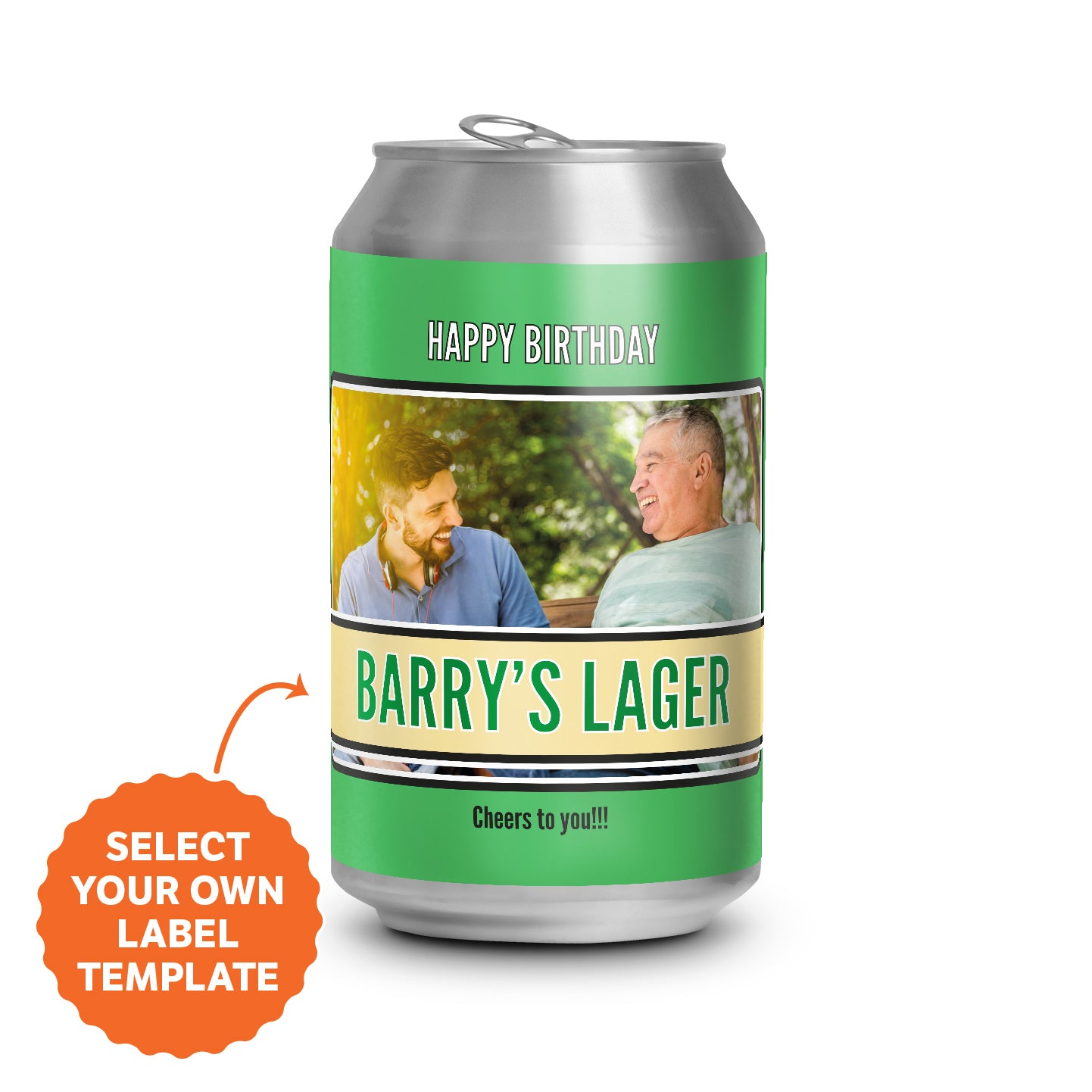 Lager Cans 4.6% - 375ml - Carton of 24
