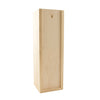 Premium Wooden Gift Box with Wooden Lid - Single Wine